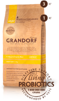 Grandorf 4 Meat & Brown Rice Мини (3 кг)